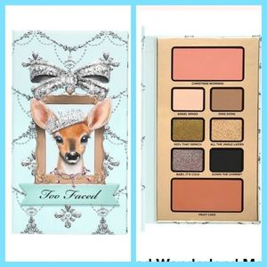 Too faced deer palette+better than sex mascara